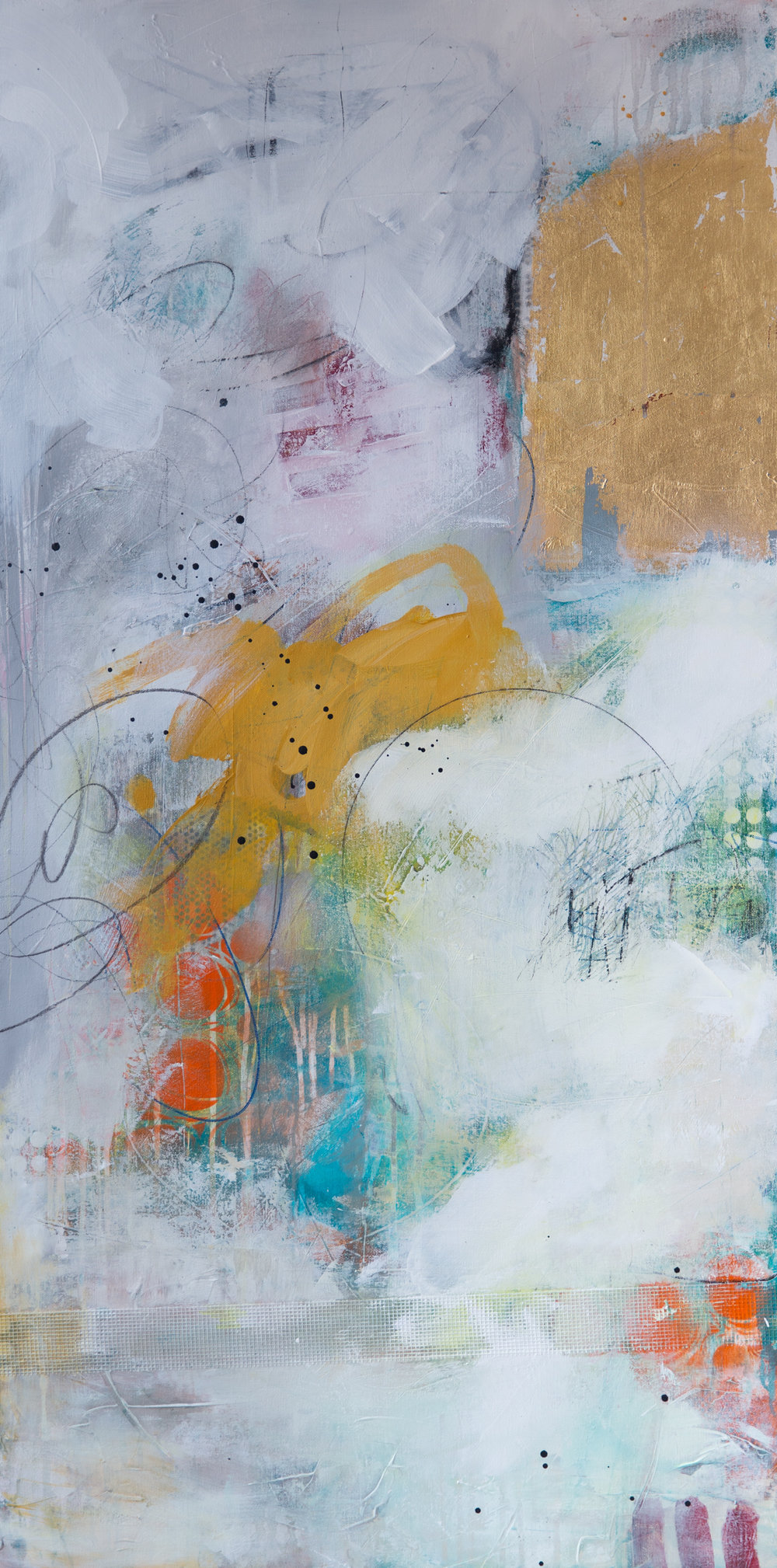 """""""Confusing Day I"""" 24x48"""