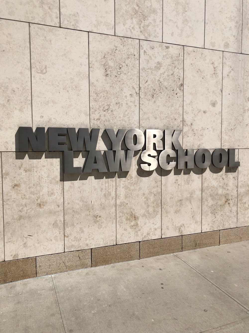 Leading a Conversation on Implicit Bias & Sexual Harassment - Purple Campaign President Ally Coll and Matt Dubin led a discussion on implicit bias and sexual harassment for over 100 incoming law students at New York Law School. A special thanks to Sponsors for Educational Opportunity for hosting the conversation.