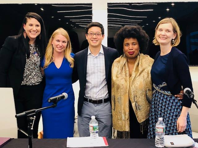 Creating lasting change in the legal profession in the wake of #MeToo - Purple Campaign President Ally Coll Steele joined award-winning documentary filmmaker and activist Aishah Shahidah Simmons, National Women's Law Center General Counsel and Vice President of Education and Workplace Justice Emily Martin, and North Carolina Deputy Solicitor General Ryan Park for a discussion on what can be done to create lasting change in the legal profession in the wake of #MeToo.