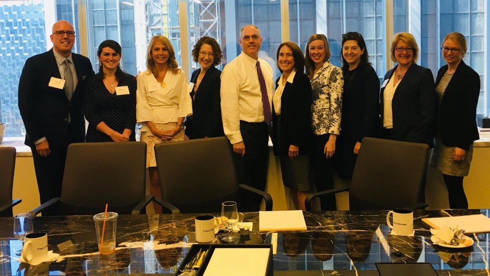 #MeToo: Transforming the Legal Ecosystem RoundTable - Purple Campaign President Ally Coll Steele joined Her Justice, Paul, Weiss LLP, and Thomson Reuters for the second session of their #MeToo Roundtable Discussion series. The discussion explored root causes of sexual harassment and identified practical steps lawyers can take to be part of the solution. Read more here.