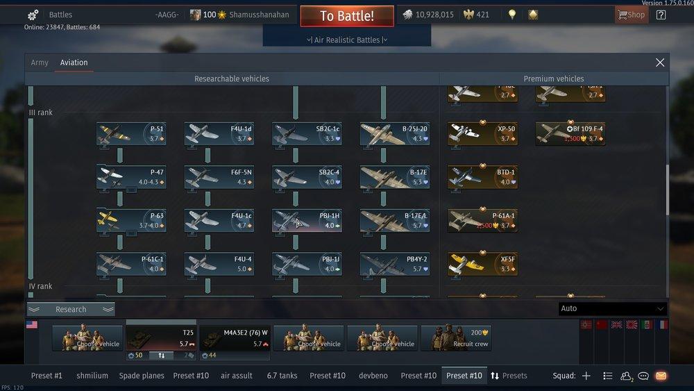 War thunder matchmaking rank
