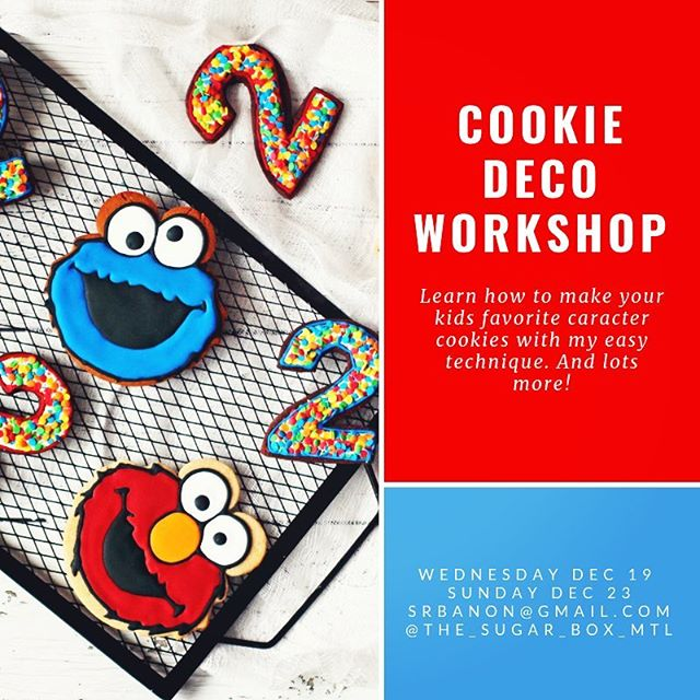Cookie decorating class for adults and teens. Learn the techniques and apply them to any theme! Hurry reserve your spot places are limited. . . . . . #mtlcookies #customcookiesmtl #mtlblog #montreal