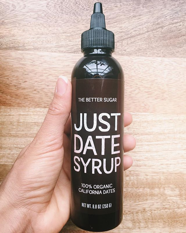 BEHOLD, something sweet, nutritious, and plant-based: DATE SYRUP! ⁣ ⁣ Did you know a date is considered a fruit? Well, it has a seed! Now what better way to sweeten your desserts and breakfast options with anything other than natural fruit! ⁣ ⁣ In terms of white sugar and high fructose syrup, date isn't technically a sugar, it's a food, a fruit that happens to have sugar. ⁣ ⁣ Date sugar is low in the glycemic index scale. Btw, the term glycemic relates to sugar/ glucose. And the glycemic scale measures how fast the body digests, absorbs and raises the sugar in the bloodstream. In this case, low is good because does not spike your blood sugar as fast. ⁣ ⁣ Dates not only sweeten, they are a good source of nutritional value, including, fiber, antioxidants, vitamins and minerals. And the fiber content in dates help slow down the blood sugar absorption! ⁣ ⁣ Have a look at date sugar granules and/or syrup if you're looking to eliminate or reduce processed sugars from your overall diet. It's a supreme natural sweetener. ⁣ ⁣ Small changes go a long way!⁣ ⁣ Eat Well + Feel Well ⁣ ⁣ ⁣ ⁣ ⁣ ⁣ ⁣ ⁣ ⁣ ⁣ ⁣ ⁣ #health #plantbasedtips #veganhealth #plantbasedhealth #healthydiet #healthyfood #healthtips #vegansofcolor⁣