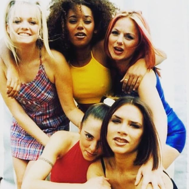 The Spice Girls are back on tour! (minus posh) 🙌� 🔥🎤 #cantwait #Spiceupyourlife #90s #wannabe