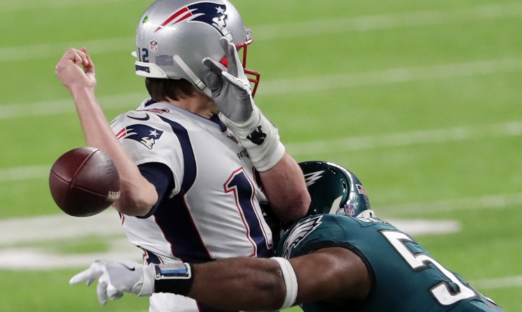 Brandon Graham's Strip Sack - The one defensive play we were all waiting for.