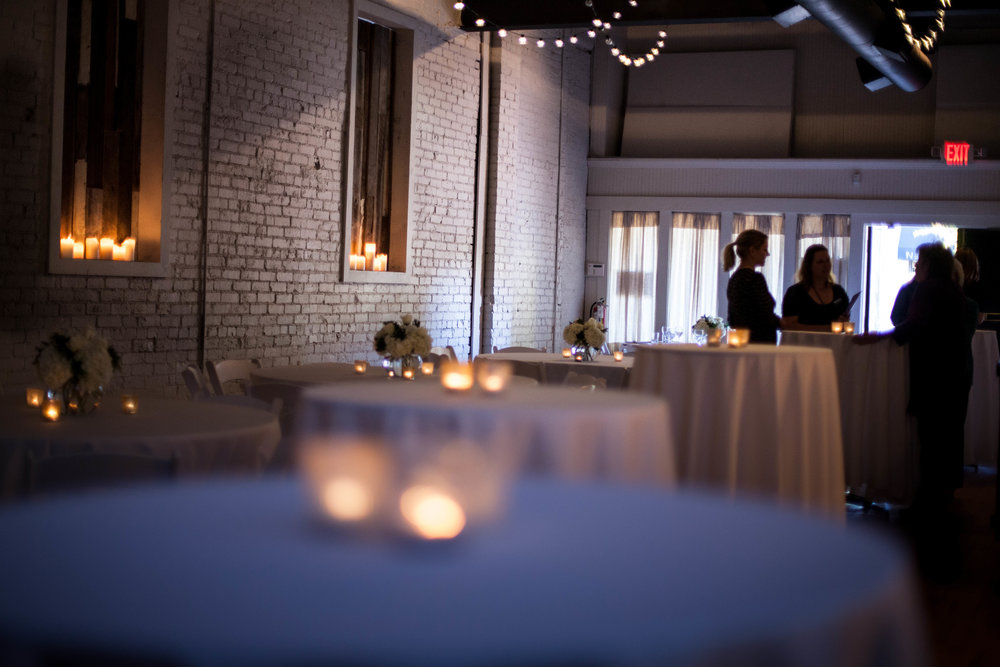 It's a blank canvas... - Our venue offers a clean slate for you to utilize for your event. With an easily adaptable space, we can help you customize and execute your event plans.