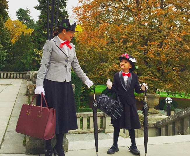 Originally featured on  Brit + Co's  Halloween post, we love this mother/daughter costume. (IG:  @veryvancouver)
