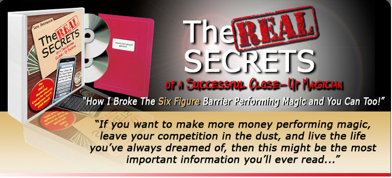 The Real Secrets Marketing Course for Magicians.jp