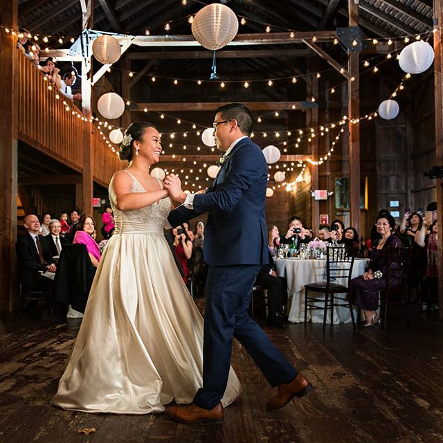 Sabrina & Brian's first dance at the lovely #thebarnsatwesleyanhills | @dreamscape_studio_photography @inspiration.in.motion @longstemflowershoppe @phiphiliang @chryssiesbridal . . . . . . . . . . #ctwedding #ctweddingphotographer #ctweddingphotography #firstdance #firstdanceashusbandandwife #candidweddingphotography #thedailywedding #instawed #theknot #huffpostido #soloverly #nothingisordinary #canonnofilter #creativepreneur #ctwedding #ctweddingphotographer #risingtidesociety #weddingwire #weddingday #weddingportrait #aisleperfect #connecticutwedding #connecticutweddingphotographer #weddingembassy #colorfulwedding #brideandgroom #naturalweddingphotography @instaproofs