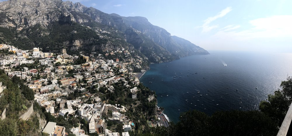 The drive along Amalfi Coast. —Photo taken: October 12, 2018