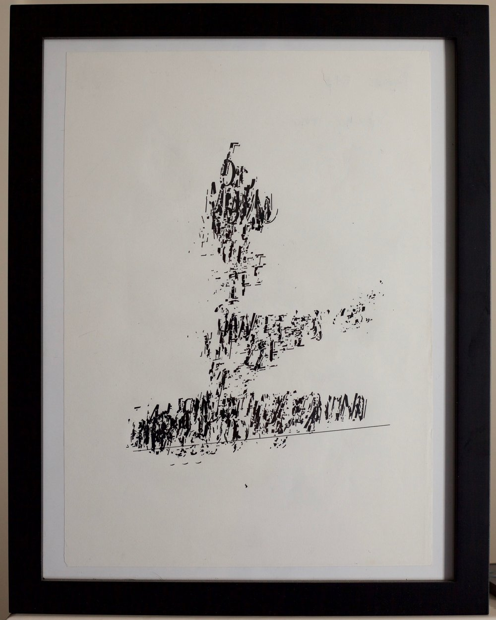 """Letraset dry transfer type  9"""" x 12""""  1999"""