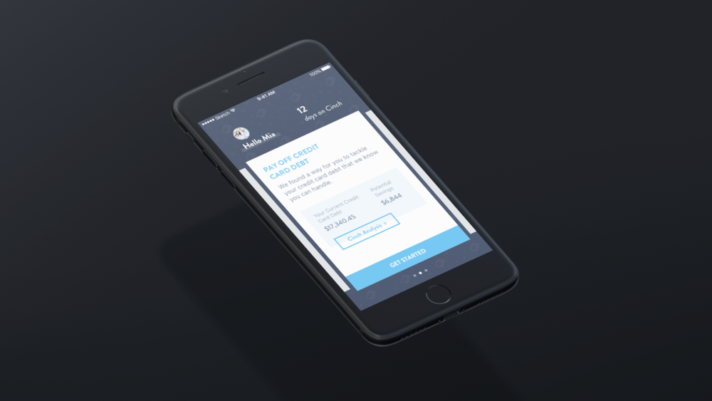 Cinch Financial Advisor - Not everyone has access to a financial advisor, but what if you could put the smarts of a financial advisor into an app?