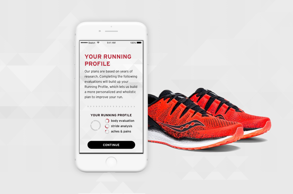 Saucony Stride Lab - With so many running products on the market, Stride Lab offers a different kind of running app: one aimed at improving form, rather than tracking routes.