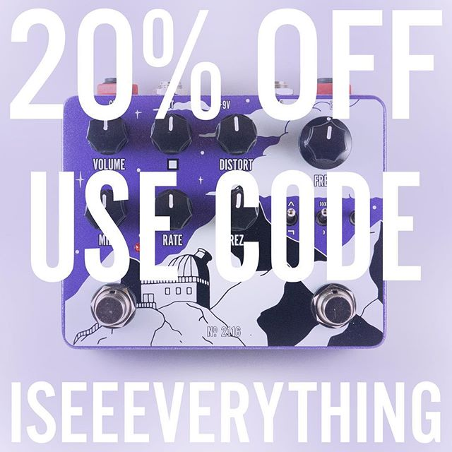 Everything is Alive No.2116 is on sale right now. Ok.  #biggamepedals #everythingisalive #guitarpedals #basspedals #mojotones #fuzz #filter #ilovefuzz #synthpedals #effectspedals