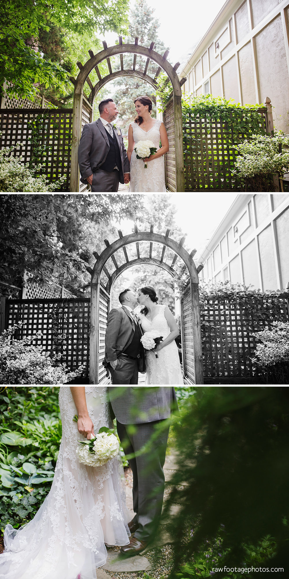 Wedding Portraits at Idlewyld Inn