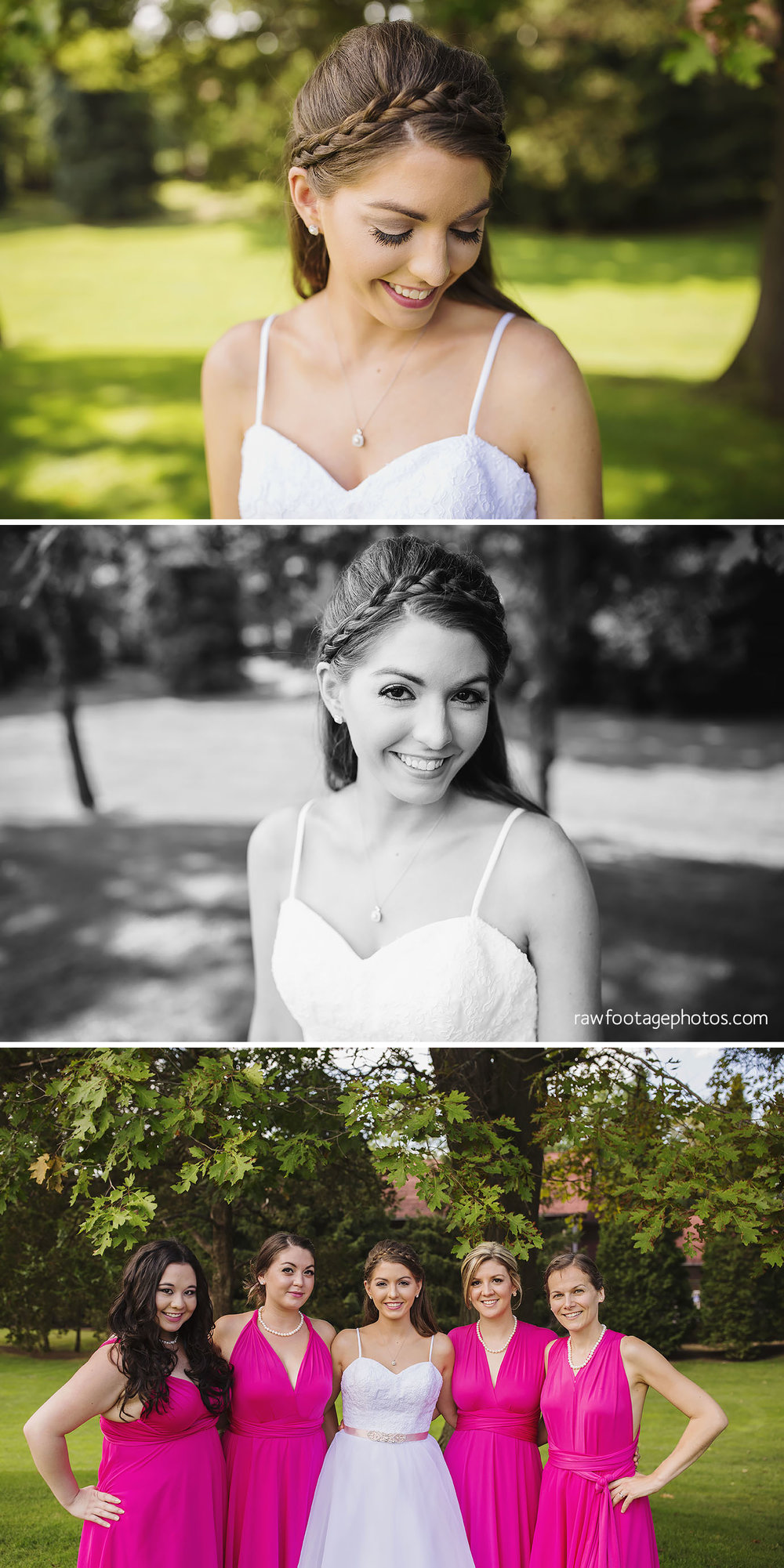 Bridal Portraits at Oakwood Resort