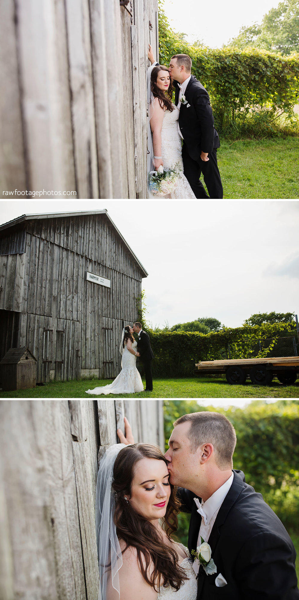 Fanshawe Pioneer Village Wedding Portraits