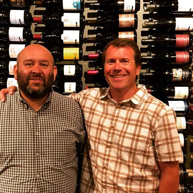 Thank you again @rajatparr for coming up to Tahoe/Truckee to pour @sandhiwines and @domainedelacote at #uncorkedtahoe and #petranorthstar . Your wines are precise, clean and focused! The lineup was great and very well received by our customers. #naturalwine #sommlife stop by your local uncorked to purchase Sandi and or Domaine de la Cote.
