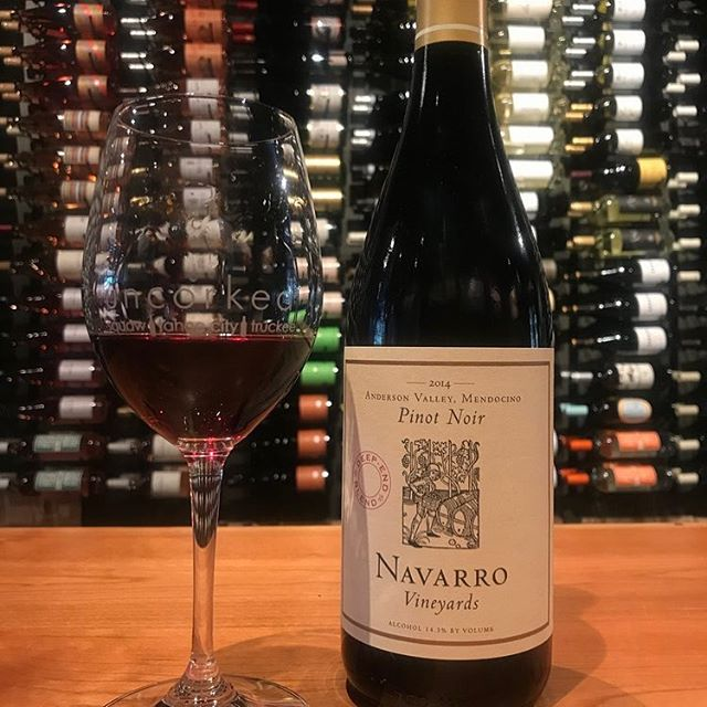 Join us Friday August 17th at Uncorked Truckee and Saturday, August 18th at Uncorked Tahoe City 6PM-8PM for our Meet the Winemaker Event with @navarrovineyards Enjoy a flight and learn more about the philosophy in making these delicious wines. #tahoe #wine #winelover #winetasting #winery #navarrovineyards #truckee #truckeelove #laketahoe #tahoecity #cheers