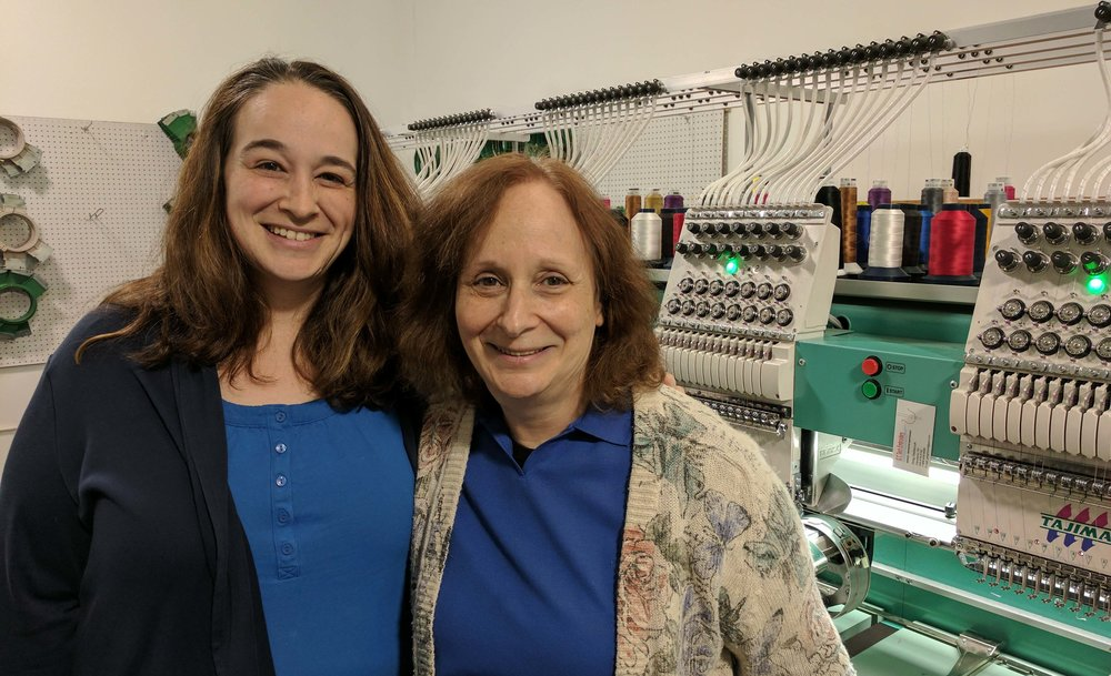 RK's Embroidery Boutique - We're a mother-daughter team + an incredible staff with over 100 years of combined embroidery experience!