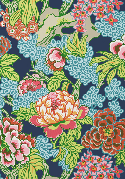 Thibaut's NEW Honshu Fabric