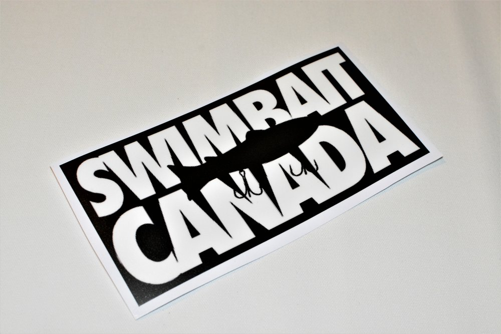 swimbait canada classic sticker
