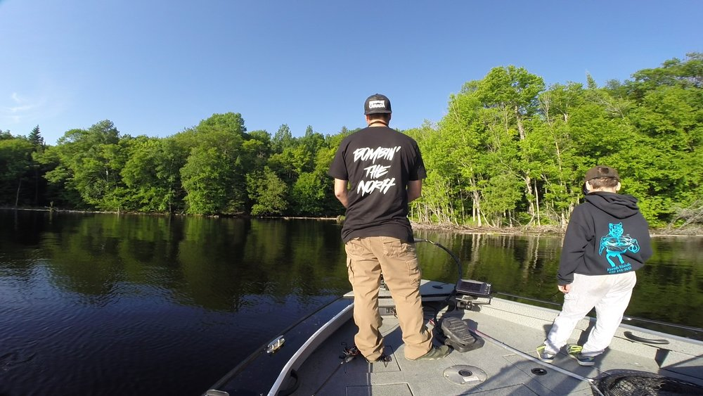 Swimbait canada bombing the north tee