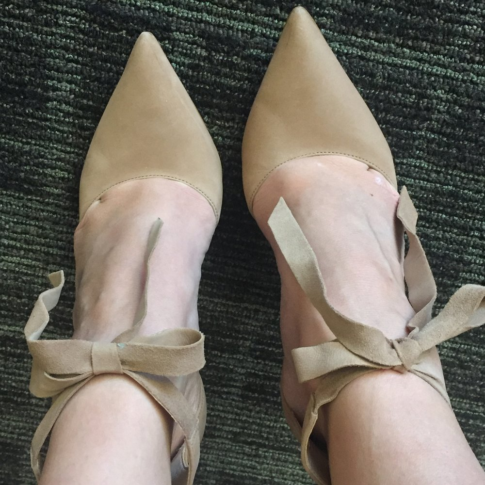 PS. Lovingthese shoes ♥ - They were NOT thrifty… but you, too can overpay for a pair here.