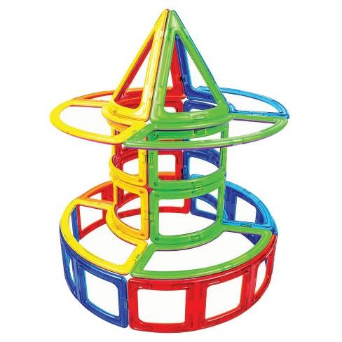 Magformers Curve Magnetic Building Set