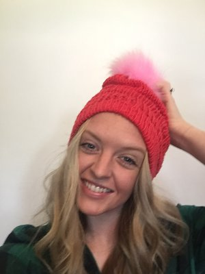 Easy DIY Anthro-Inspired Knit Beanie