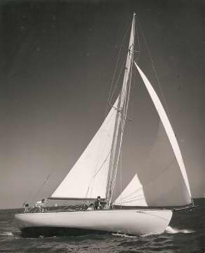 "1938 Swedish sloop, ""Gullmar"""
