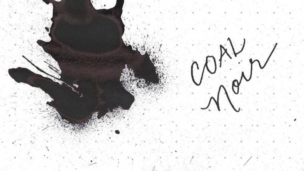 9. Coal Noir - Why settle for not-quite-black when you can have black-black?