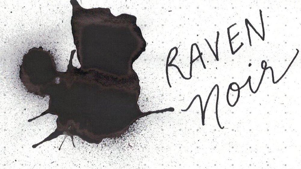8. Raven Noir - A nice black with sheen, but still black.