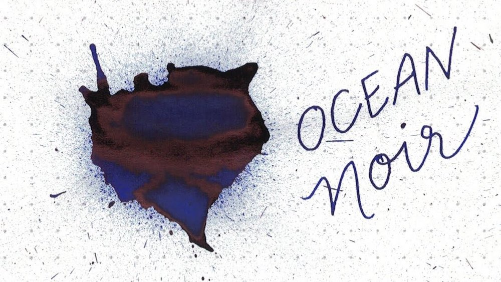 1. Ocean Noir - A bold, punchy blue-black with red sheen.