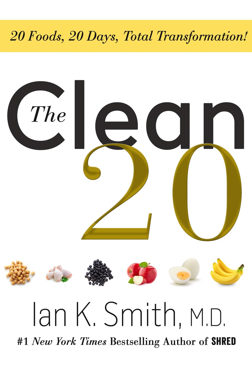Learn more about The Clean 20 - The Clean 20 is an extremely simple and flexible program that calls for you to eat 20 ingredients for 20 days.  Clean and Simple are the key.  You will feel re-invigorated after these 20 days and no longer dependent on processed foods and all of their chemicals.Learn more ➝