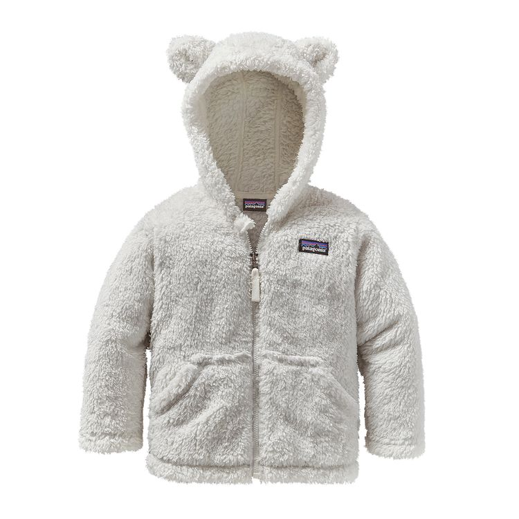 Patagonia Baby Furry Friends Hoody $55