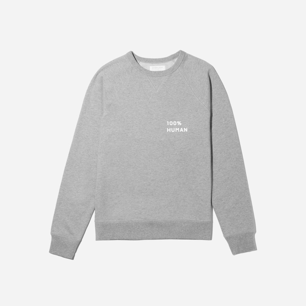 Unisex French Terry Sweatshirt Small Print  $50
