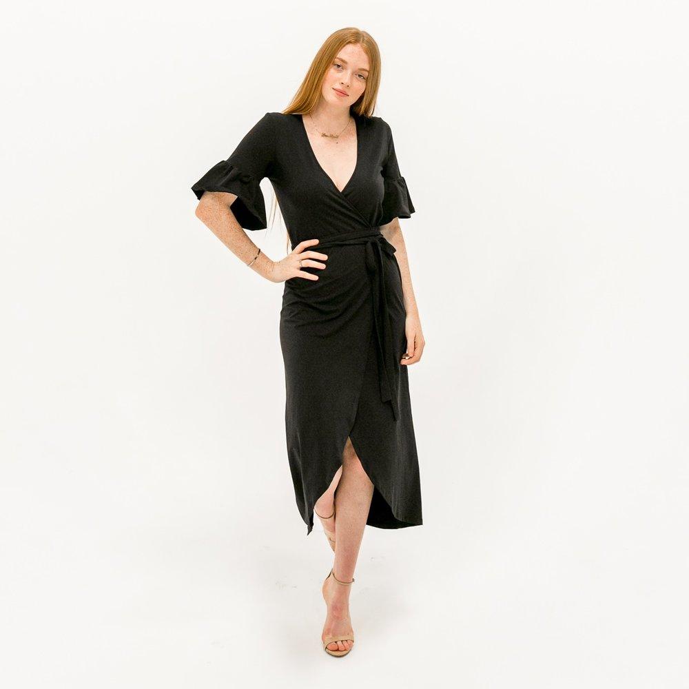 The Danielle Dress - Black $68.00