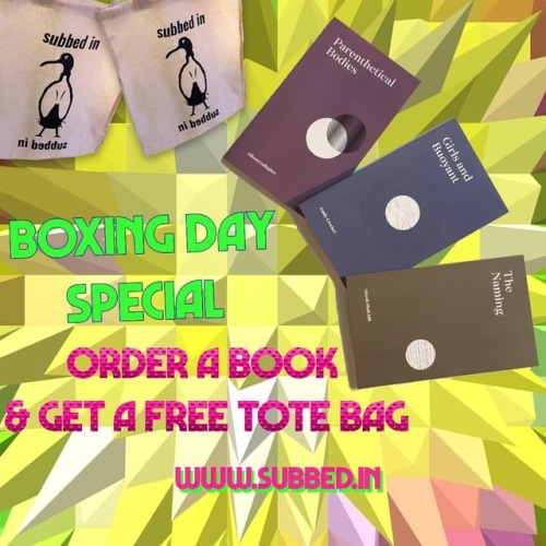 😱 buy a book from our online store & receive a FREE ibis tote bag 🦋