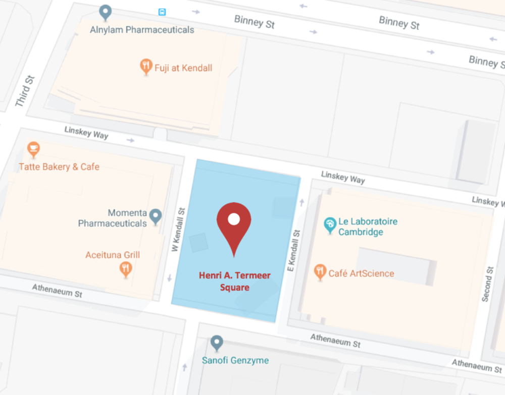 Henri A. Termeer Square Map.png