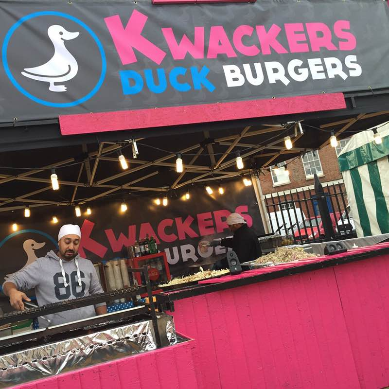 Kwackers  By fusing the best of east and west we have created a special DUCK burger that's proven a huge success with burger lovers across the UK.