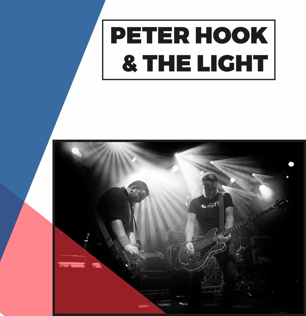 Copy of Peter Hook & The Light