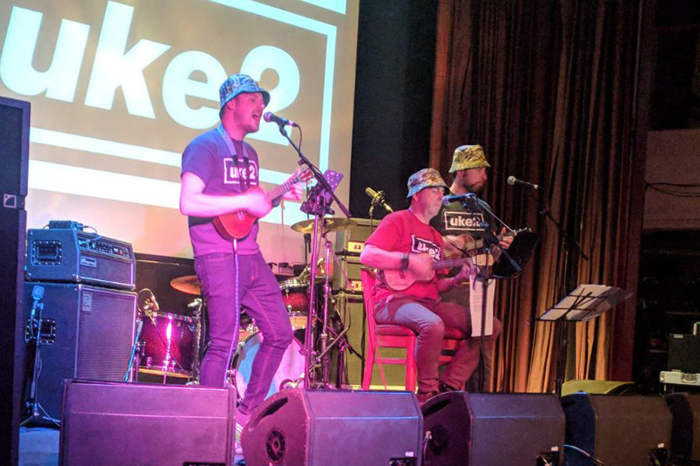 UKE2 - The UKE2 ukulele trio will be performing on the Barn Stage in 2019 after great performances at the Rose & Crown last year - get ready to singalong to some classic tunes!