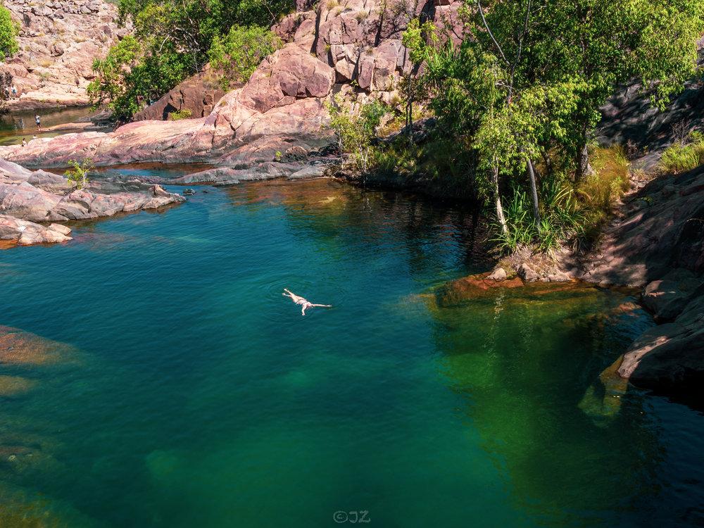 Gunlom Falls, Kakadu, Northern Territory
