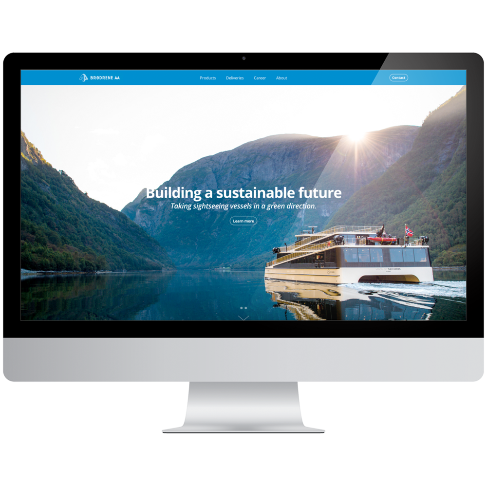 New Website - Our services:- Website design- Squarespace implementation- Squarespace Developer Mode- Custom HTML, CSS, and Javascript- Custom boats moduleIn January 2018, we launched a new website for Brødrene Aa.This is a second generation website with a Squarespace platform. The website has both a modern design and simplified content.