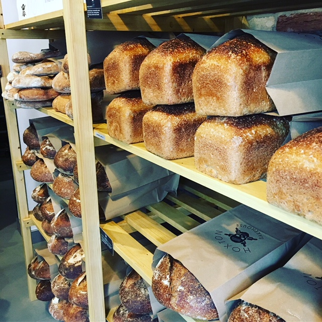 The bread at Hoxton Bakehouse looked absolutely unreal.