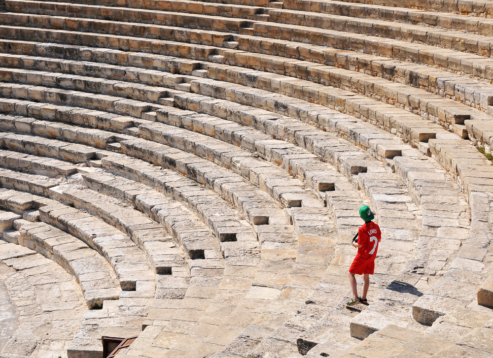 Amphitheatre, Kourion, Cyprus