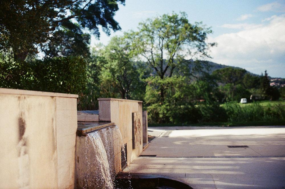 Fontaine à La Maison du Vin