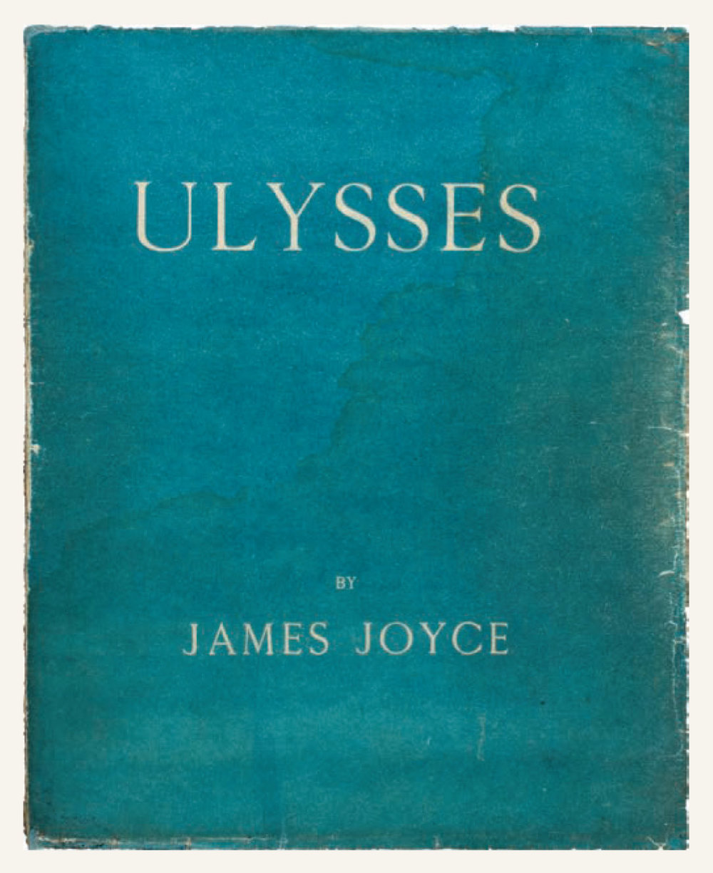 Copy No.1,    Ulysses – James Joyce