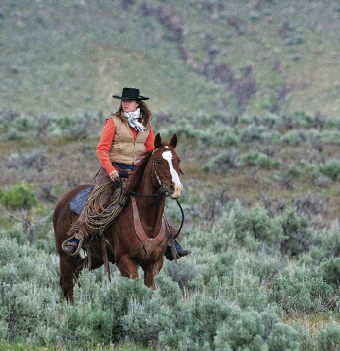 Photo by Darrell Dodds for Western Horseman, 2011